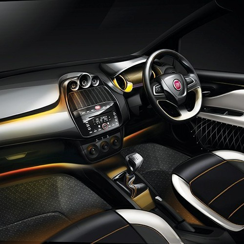 Fiat Avventura Interior Dashboard