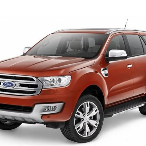 Ford Endeavour 2015 Front View