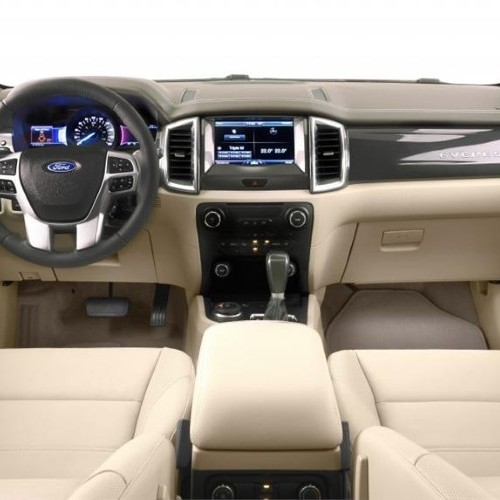 Ford Endeavour 2015 Interior