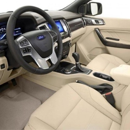 Ford Endeavour 2015 Interior Steering Wheel