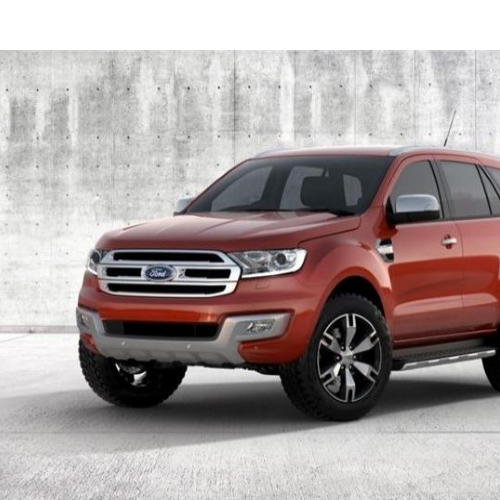 Ford Endeavour 2015 Side View