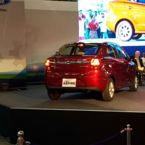 Ford Figo Aspire Launch Picture Rear View