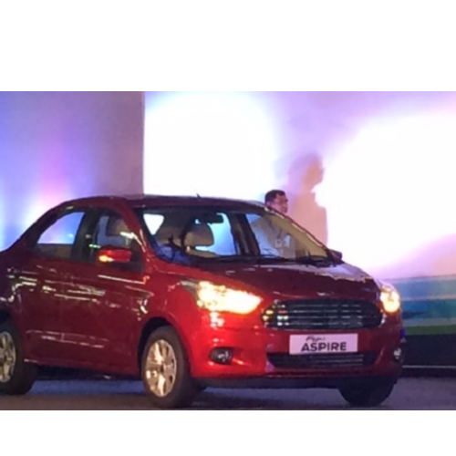 Ford Figo Aspire Night View