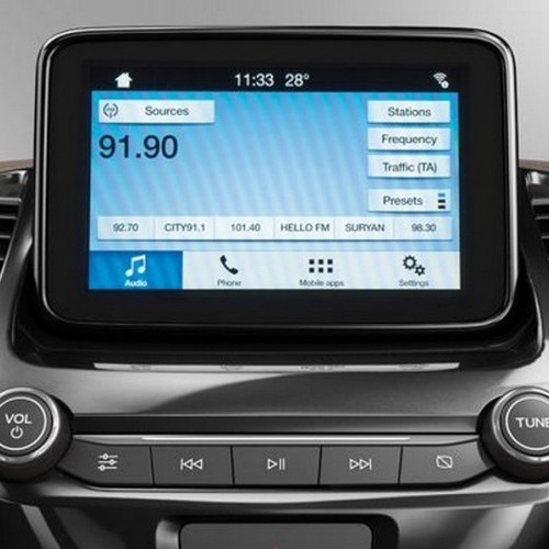 Ford Freestyle Music System