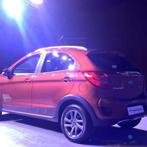 Ford Freestyle Rear View