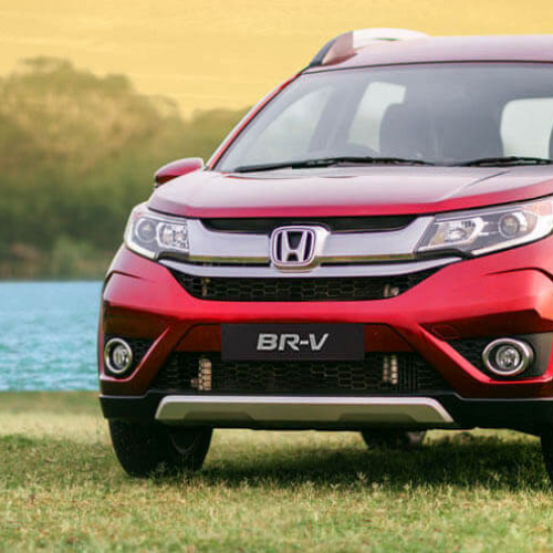 Honda Brv Test Drive Picture Grass River