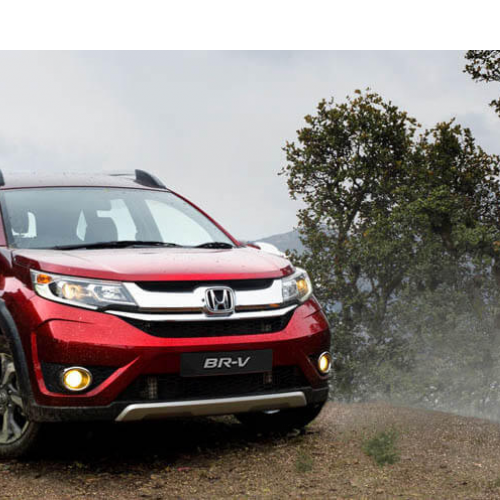 Honda Brv Test Drive Picture River Side