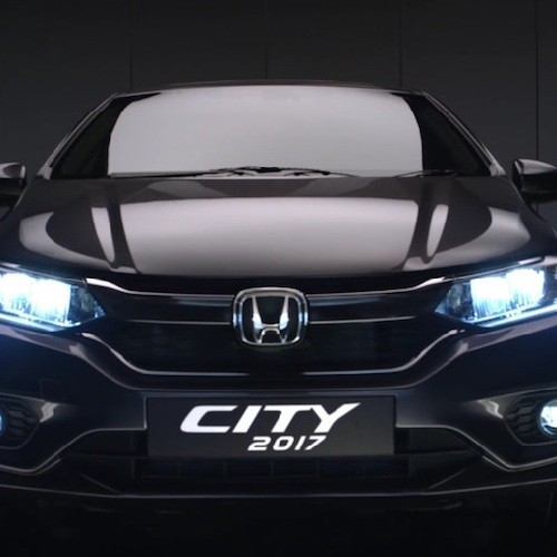 New Honda City Front View