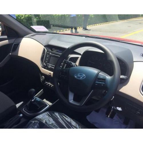 Hyundai Creta Interiors Steering Wheel