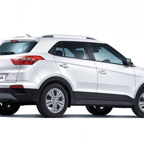 Hyundai Creta Suv Rear Quarter View