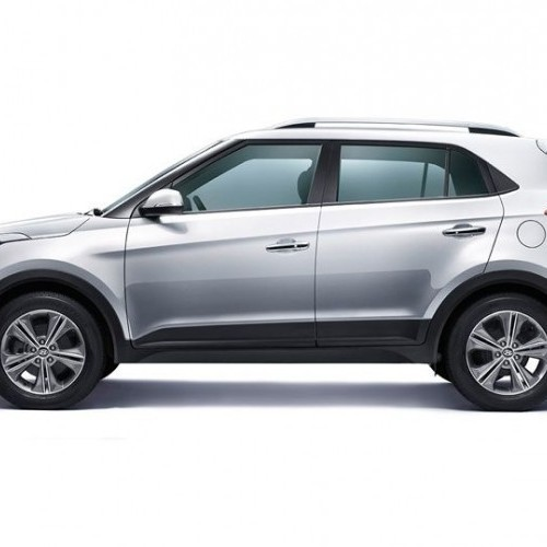 Hyundai Creta Suv Side View