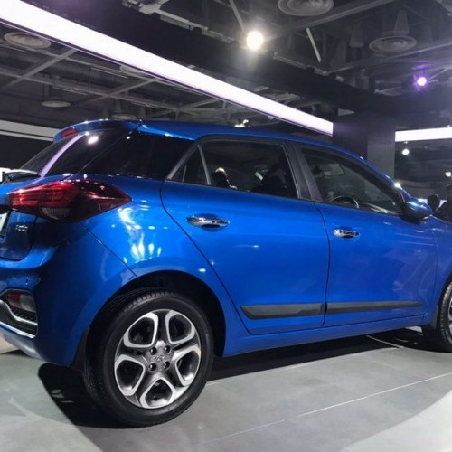Hyundai Elite I20 2018 Rear Quarter View