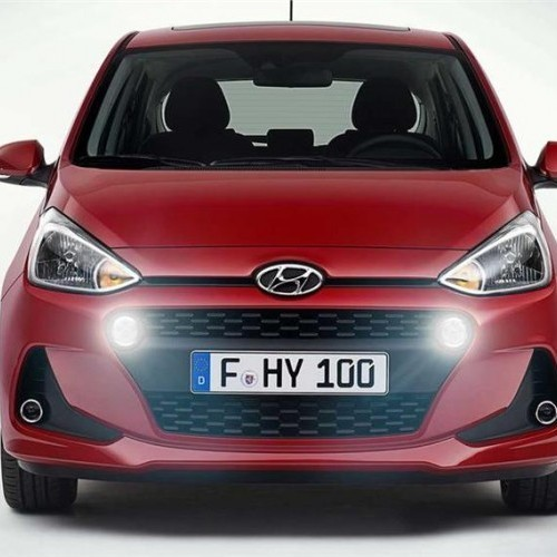 Hyundai Grand I10 New Model Front Headlamp Grille