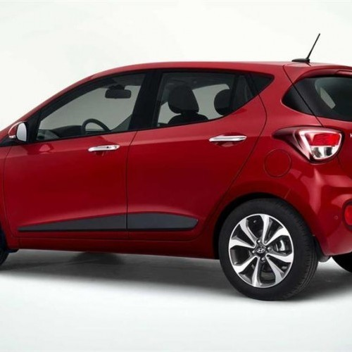 Hyundai Grand I10 New Model Side View