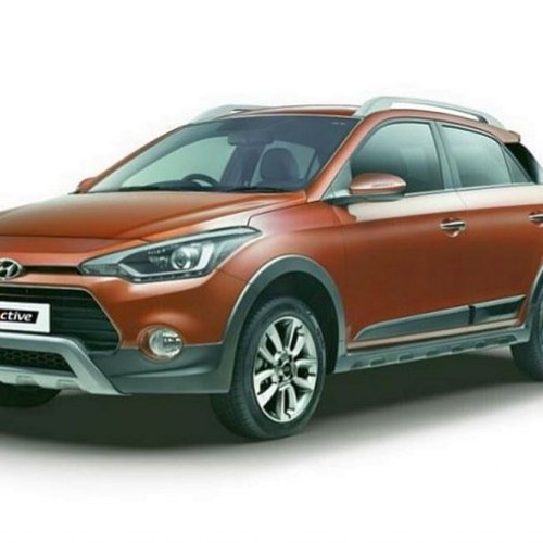 Hyundai I20 Active Front Quarter View