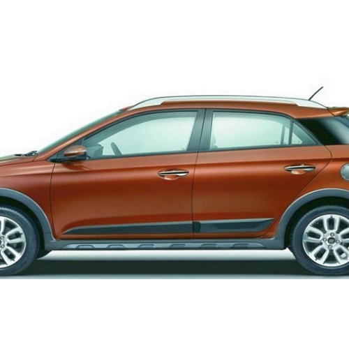 Hyundai I20 Active Full Side View