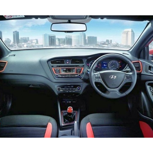 Hyundai I20 Active Interiors Steering Wheel