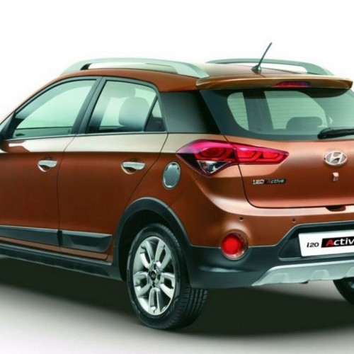 Hyundai I20 Active Rear Quarter View