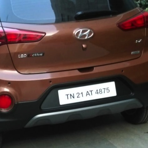 Hyundai I20 Active Rear View
