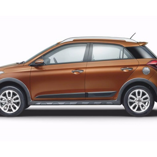 Hyundai I20 Active Side View