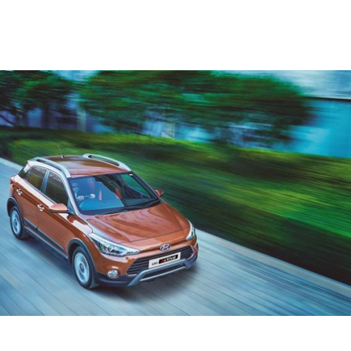 Hyundai I20 Active Top View