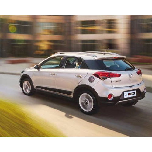 Hyundai I20 Active White Colour Rear
