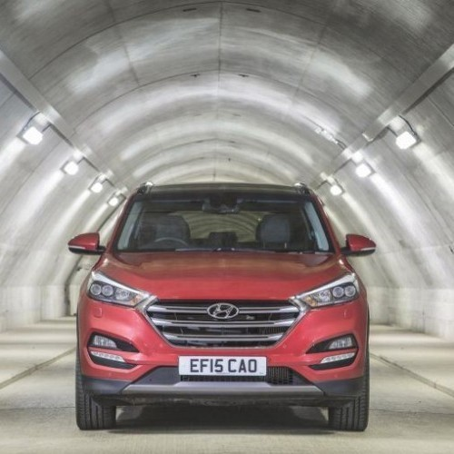 Hyundai Tucson India Front View
