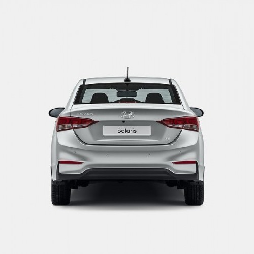 Hyundai Verna 2017 Rear View 2