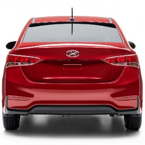 Hyundai Verna 2017 Rear View