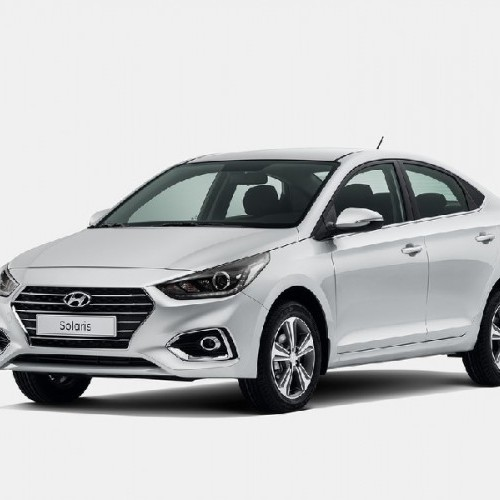 Hyundai Verna 2017 Side Quarter View