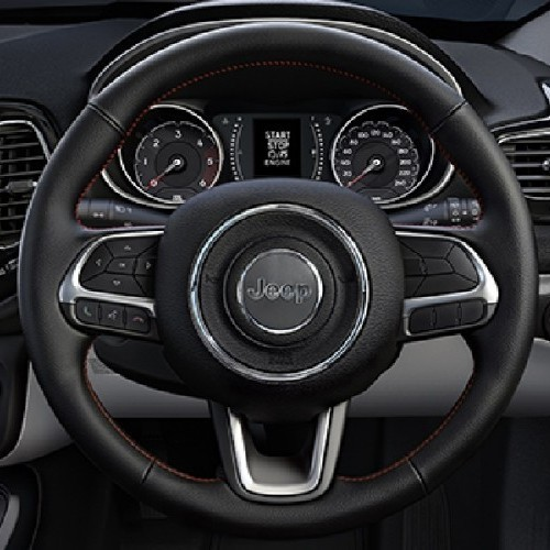 Jeep Compass Interior Leather Steering