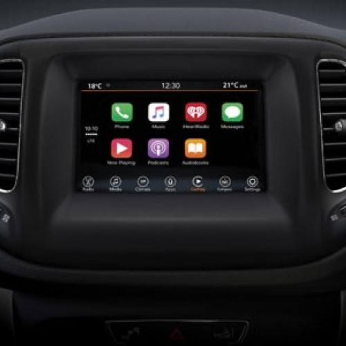 Jeep Compass Uconnect Infotainment System
