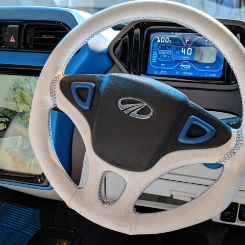 Mahindra E2o Nxt Electric Interiors Dashboard