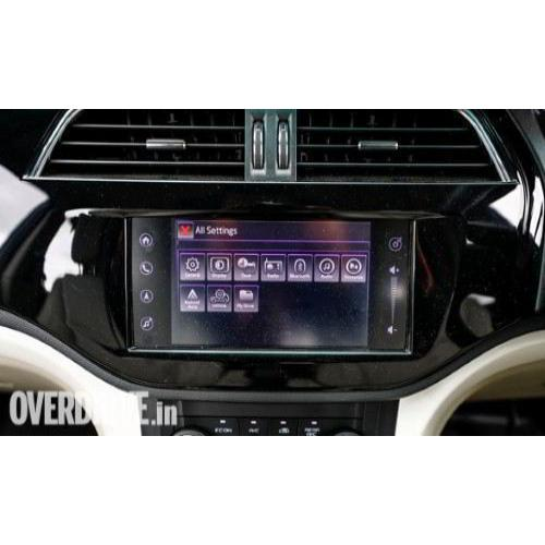 Marazzo Infotainment Screen