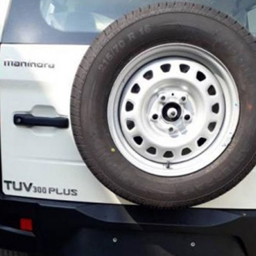 Mahindra Tuv 300 Plus Rear View