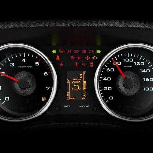 Mahindra Tuv 300 Style Sporty Twin Pod Instrument Cluster