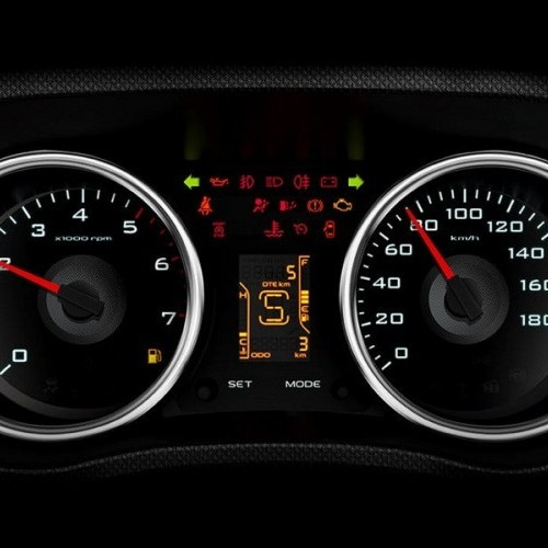 Mahindra Tuv 300 Style Twin Pod Instrument Cluster