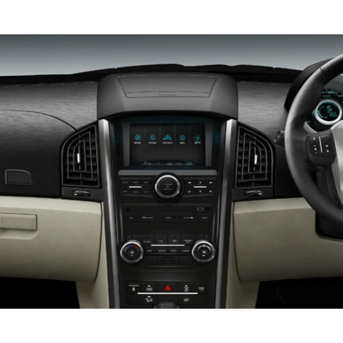 Mahindra Xuv 500 2015 Features Dashboard Big