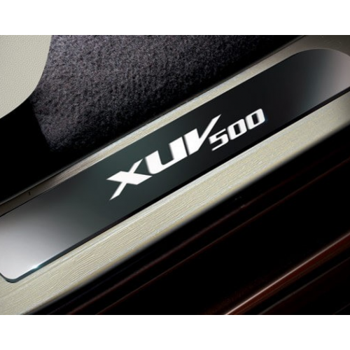 Mahindra Xuv 500 2015 Features Scuff Plate Big