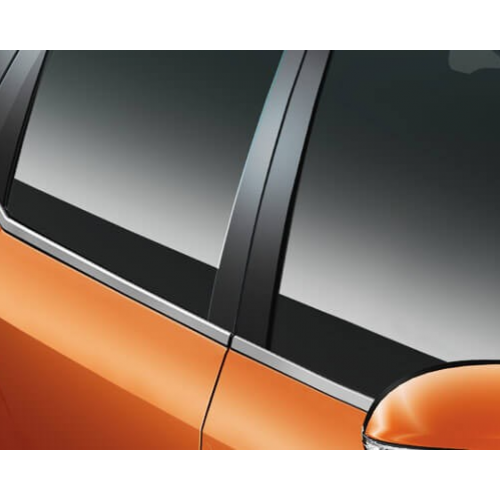 Mahindra Xuv 500 2015 Features Window Chrome Lining Big
