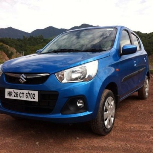 Maruti Alto K10 Amt Color Blue
