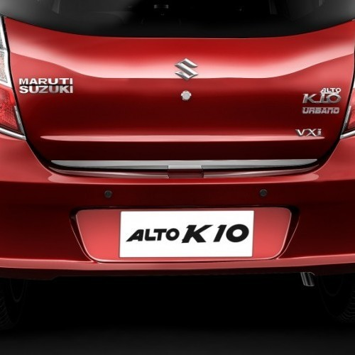 Maruti Alto K10 Limited Urbano Edition Rear View