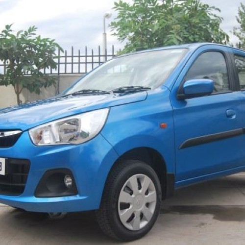 Maruti New Alto K10 Blue