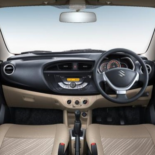 Maruti New Alto K10 Interior
