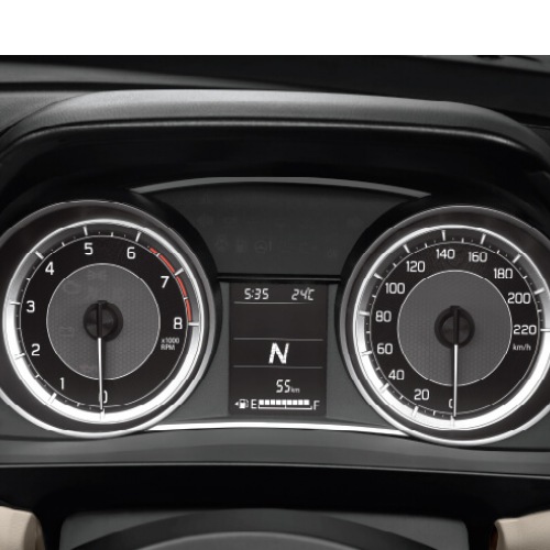 Maruti Dzire Instrument Panel Speedo Tacho