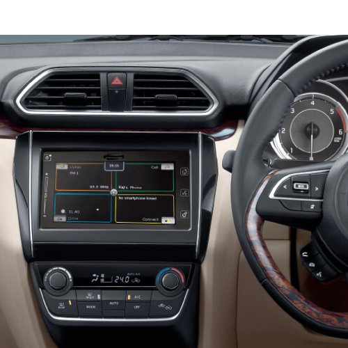 Maruti Dzire Interiors Dashboard