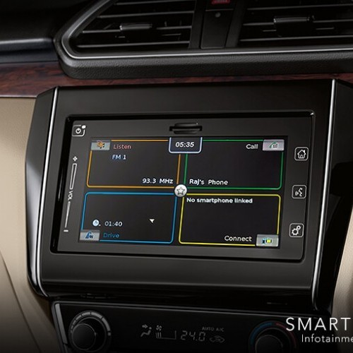 Maruti Dzire System Map Navigation