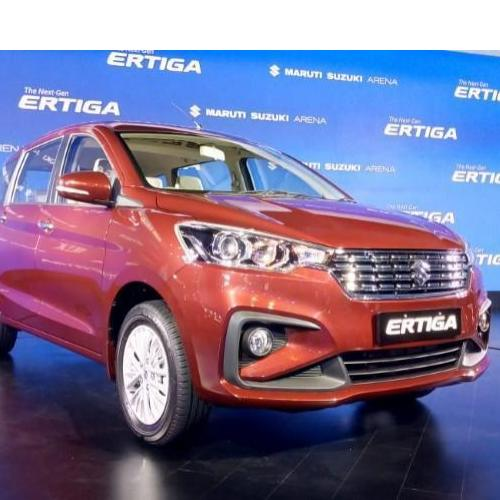 Ertiga Launching Stills