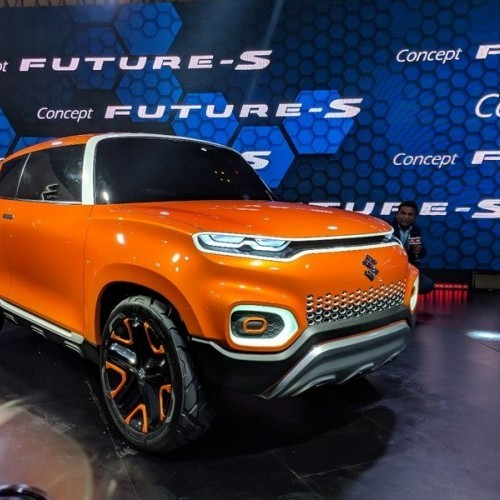 Maruti Future S Front Three Quarters View