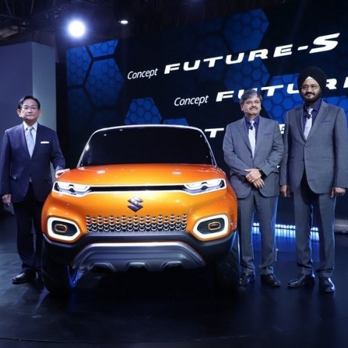 Maruti Future S Front View
